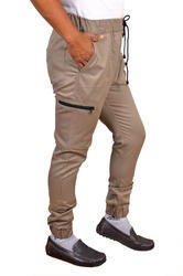 Men's Brown Track Pants