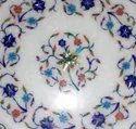 Pietra Dura Semi Precious Stone Inlay Table Top