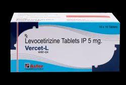 Levocetirizine Tablets ( Vercet - L Tab)