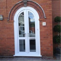 UPVC Arched Door