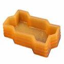 Yellow PVC Rubber Paver Block Mould