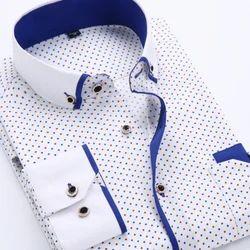 Men Casual Printed Shirt, Size: S-XXL