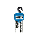 Mild Steel Blue Chain Pulley Block, Capacity: 3 Ton
