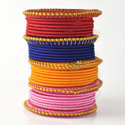 Rajasthan Art Fashion Jewelry Exclusive Thread Bangles
