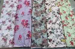 Chikankari Digital Print Fabric