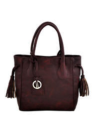 Dark Maroon Handbag