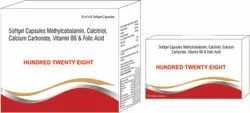 Methylcobalamin Calcitriol Calcium Carbonate Vitamin B6 & Folic Acid