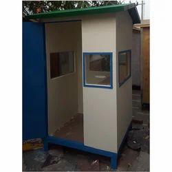 Security Cabin  4'X4x'7' Cement Fiber