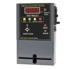 Coin Operated Alcohol Detector