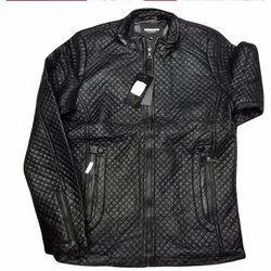 Black Men Mens Designer Jacket, Packaging Type: Packet