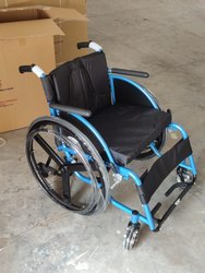 RUDRA Nano Blue Sports Wheelchair