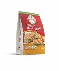 Just2Eat Indian Style Instant Food Chicken Dum Biryani (Combo of 3 Packs)