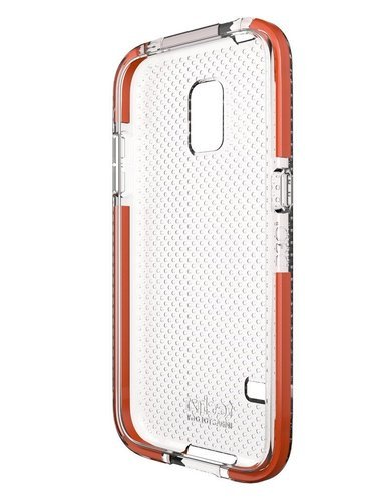 uk availability 58ad6 13823 Impactology Tech21 Impact Mesh Samsung Galaxy S5 Sport Clear Back ...