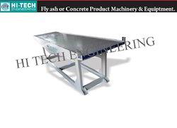 Vibrator Table For Paver Block