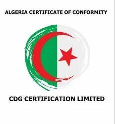 Algeria Certificate of Conformity