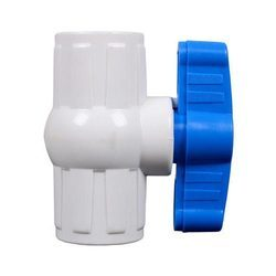 White UPVC Solid Ball Valve