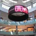 Rental Die-Casting Cabinet LED Display Screen Wall