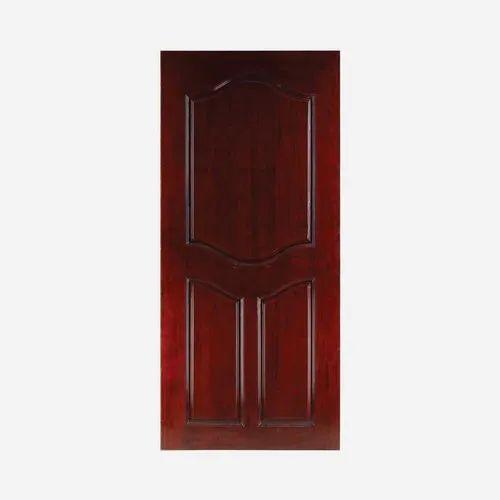 Chocolate Plywood Panel Flush Door, Size/Dimension: 6x4 Feet