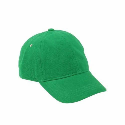 05b288b0781 Plain GREEN Mens Sports Cap