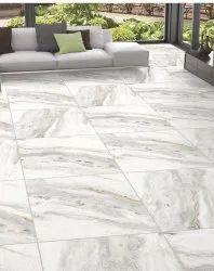 White Gvt Floor Tiles