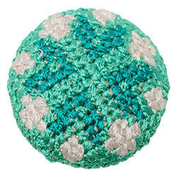 Fabric and Lace Turquoise buttons, Size/Dimension: 2.5 cm x 2.5 cm x 0.5 cm