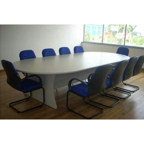 Teak Wood Oval Conference Table Rs Square Feet Immortal - Oval conference room table