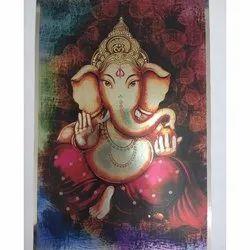 Ganesh Ji Wall Poster
