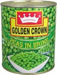 Golden Crown Green Peas In Brine 800gm