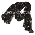 Poly Georgette Scarves