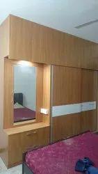 Wooden Modular Wardrobe, For Home