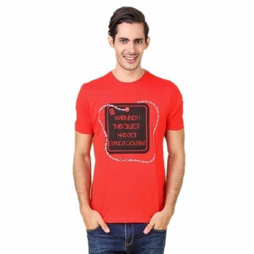 8563ddc8327c8 Cotton Large Fancy Mens T Shirt