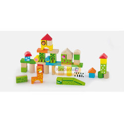 50pcs Block Set Zoo