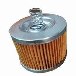 Stainless Steel Caliber Oil Filter, Packaging Type: Box