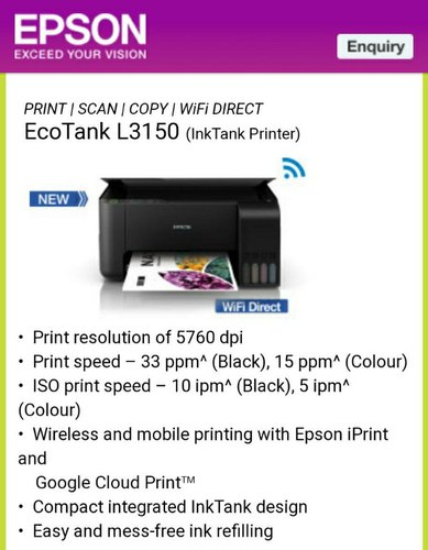 Epson Printer | Epson Ink Cartridge | Epson Printer Distributor