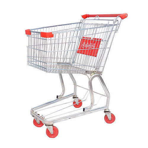 Plastic Green Shopping Trolley