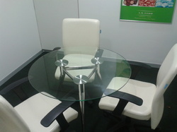 3-Seater Brief Meeting Table
