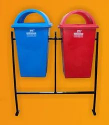 Double Stand Dustbin