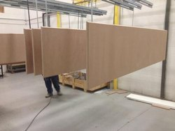 BSJS Mdf Bord Powder Coating Plant, Fully Undershot Type, Automation Grade: Semi-Automatic