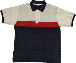 Cut & Sew Pique T-Shirt