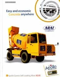 Apollo Self Loading Concrete Mixer
