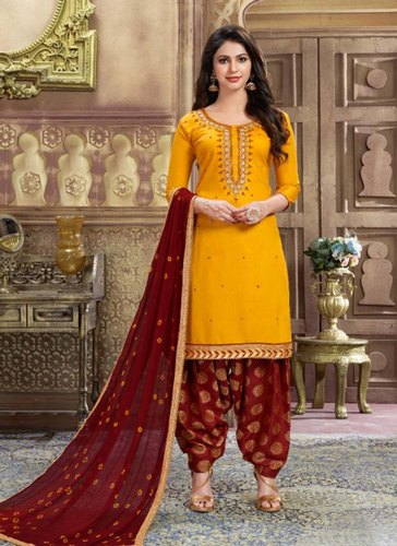 e781023870 Punjabi - Patiala Suits - Festival Wear Punjabi Salwar Suits ...