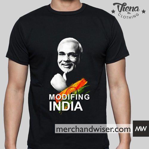 f2742ae59 Modi T-shirt - Minimum Order 100 pcs, यूनिसेक्स कॉटन ...