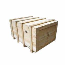 1000 X 850 Mm Pine Wooden Packaging Box