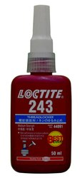 Industrial Grade Loctite 243 Threadlocker, Packaging Size: 250 mL