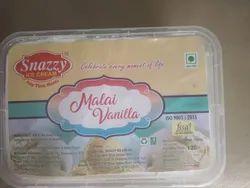 Snazzy Malai Vanilla Ice Cream