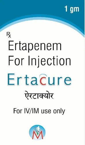 Pharmaceutical Injectable - Ertapenem Injection Manufacturer
