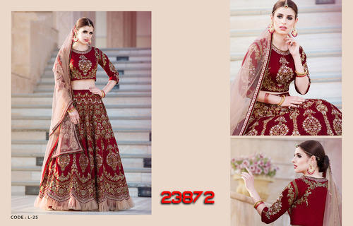 c22e04e753 Viva N Diva Off White Color Net Bridal Lehenga, Lehenga Choli - Viva ...