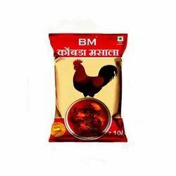Balaji Spicy Chicken Masala, Packaging Type: Packets