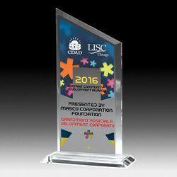 Masco Corporation Acrylic Trophy