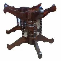 Rosewood Antique Dining Table Holder, For Home